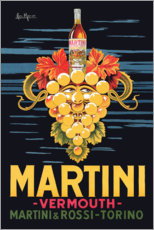 Póster Premium  Martini Vermouth - Advertising Collection