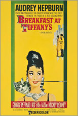 Póster Premium  Breakfast at Tiffany's - Entertainment Collection
