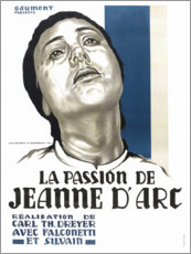 Póster Premium The Passion of Joan of Arc