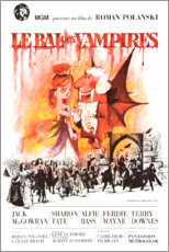 Póster Premium  The Fearless Vampire Killers - Entertainment Collection