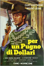 Póster Premium  A fistfull of Dollars - Entertainment Collection