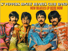 Quadro em acrílico  Sgt. Pepper's Lonely Hearts Club Band - Entertainment Collection