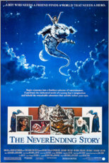 Póster Premium  The Neverending Story - Entertainment Collection