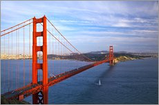 Autocolante decorativo  Ponte golden gate - Chuck Haney