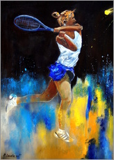 Autocolante decorativo  Tennis player - Pol Ledent