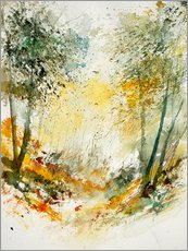 Autocolante decorativo  The forest in autumn - Pol Ledent