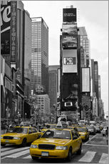 Autocolante decorativo  NEW YORK CITY Times Square - Melanie Viola