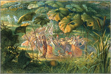 Autocolante decorativo  Fairy Dance in a Clearing - Richard Doyle