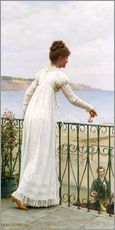 Autocolante decorativo  A Favour, 1898 - Edmund Blair Leighton