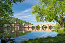 Autocolante decorativo  Heidelberg in spring - Jan Christopher Becke