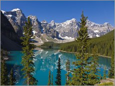 Autocolante decorativo  Lago Moraine no Parque Nacional Banff, Canadá - Paul Thompson
