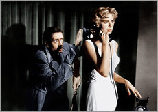 Autocolante decorativo  Dial M for Murder, from left: Anthony Dawson, Grace Kelly in 1954