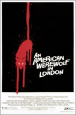 Autocolante decorativo  An American Werewolf in London