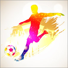 Autocolante decorativo  Football Player - TAlex