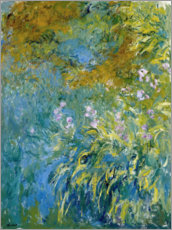 Autocolante decorativo  Yellow Iris - Claude Monet