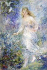 Quadro em PVC  Spring (The Four Seasons) - Pierre-Auguste Renoir