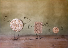 Autocolante decorativo Simple Things - Strong Food