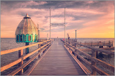 Autocolante decorativo  Diving bell at pier Zingst (Darss/Baltic Sea) - Dirk Wiemer