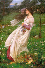 Quadro em acrílico  Windflowers - John William Waterhouse