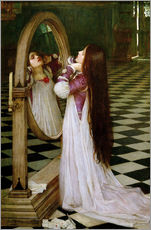 Quadro em plexi-alumínio  Mariana in the South - John William Waterhouse
