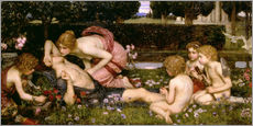 Autocolante decorativo  The Awakening of Adonis - John William Waterhouse