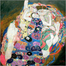Autocolante decorativo  As Virgens - Gustav Klimt