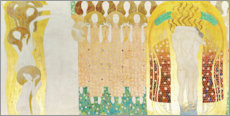 Quadro em plexi-alumínio  This kiss for the whole world - Gustav Klimt