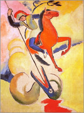 Autocolante decorativo  St. George - August Macke
