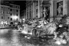 Autocolante decorativo  Trevi fountain in Rome - Filtergrafia