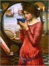 Quadro de madeira  Destiny - John William Waterhouse