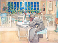 Autocolante decorativo  The Evening Before the Journey to England - Carl Larsson