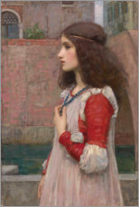Autocolante decorativo  Juliet - John William Waterhouse