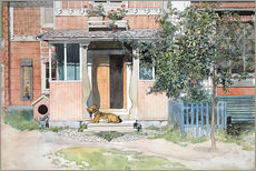 Autocolante decorativo  The Verandah - Carl Larsson