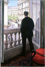 Autocolante decorativo  Man at the Window - Gustave Caillebotte