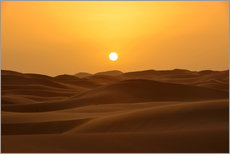 Autocolante decorativo  Sunset in the Erg Chebbi desert - HADYPHOTO