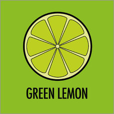 Autocolante decorativo Green Lemon Juice