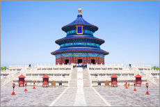 Autocolante decorativo  Temple of Heaven in Beijing - Jan Christopher Becke