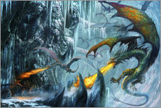 Autocolante decorativo  The cave - Dragon Chronicles
