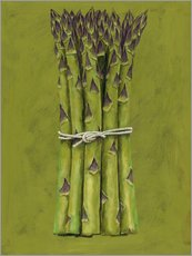 Autocolante decorativo  Asparagus bunch - Brian James