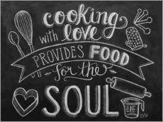 Autocolante decorativo  Cooking With Love - Lily & Val