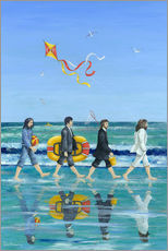 Autocolante decorativo  Abbey Road Beach - Peter Adderley