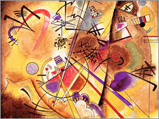 Autocolante decorativo  Small dream in red - Wassily Kandinsky
