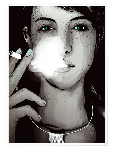 Póster Premium smoking #1