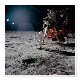 Póster Premium  Apollo 11 Moon Walk