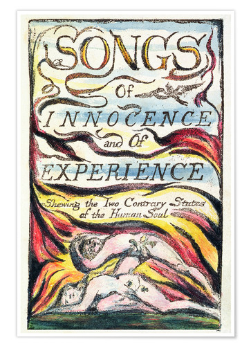 Póster Premium Songs of Innocence and of Experience
