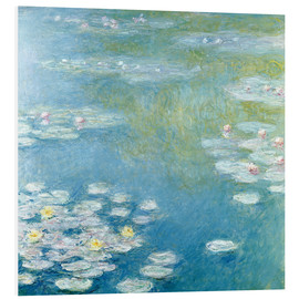 Quadro em PVC  Nympheas at Giverny - Claude Monet