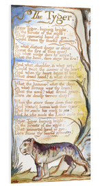 Quadro em PVC  The Tyger - William Blake