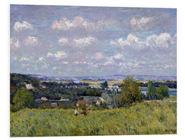 Quadro em PVC  The Valley of the Seine at Saint-Cloud - Alfred Sisley