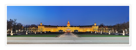Póster Premium  Panoramic view of palace Karlsruhe Germany - FineArt Panorama