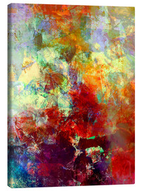 Quadro em tela  Stained paint - Wolfgang Rieger